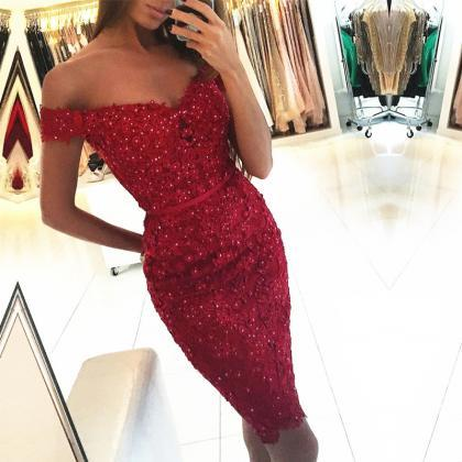 lace bridesmaid dress,burgundy cock..