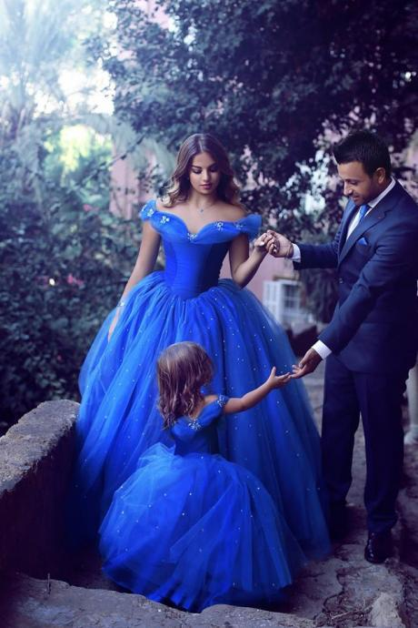 royal blue ball gowns quinceanera dress 2016 unique wedding dress