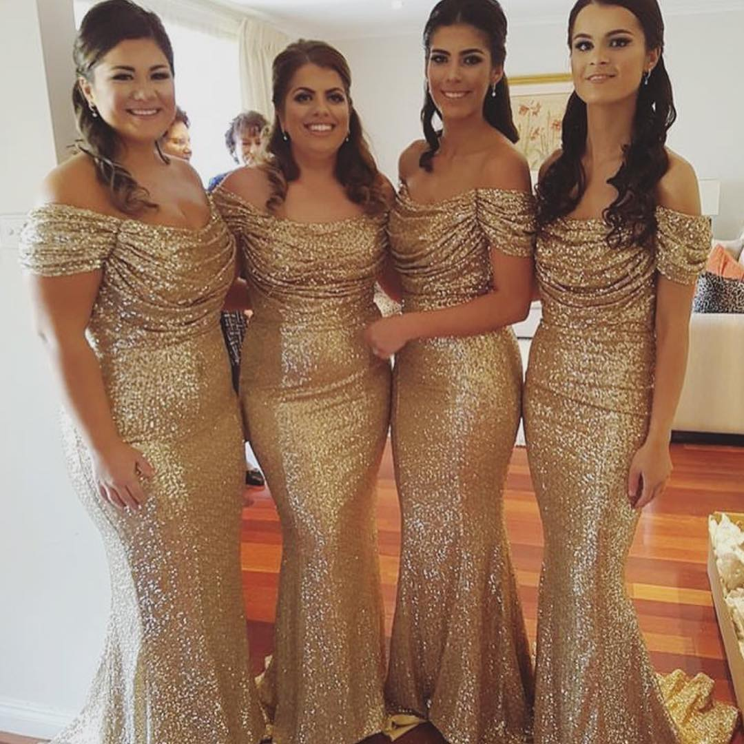 gold bridesmaid dressessequin bridesmaid dressesoff the